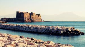 Panoramica della città di Napoli