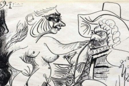 Picasso alla Galleria Tega di Milano