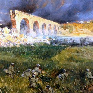 La Grande Guerra raccontata nei dipinti di Italico Brass