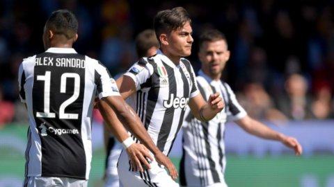 La Juve fatica a Benevento ma vince e allunga sul Napoli