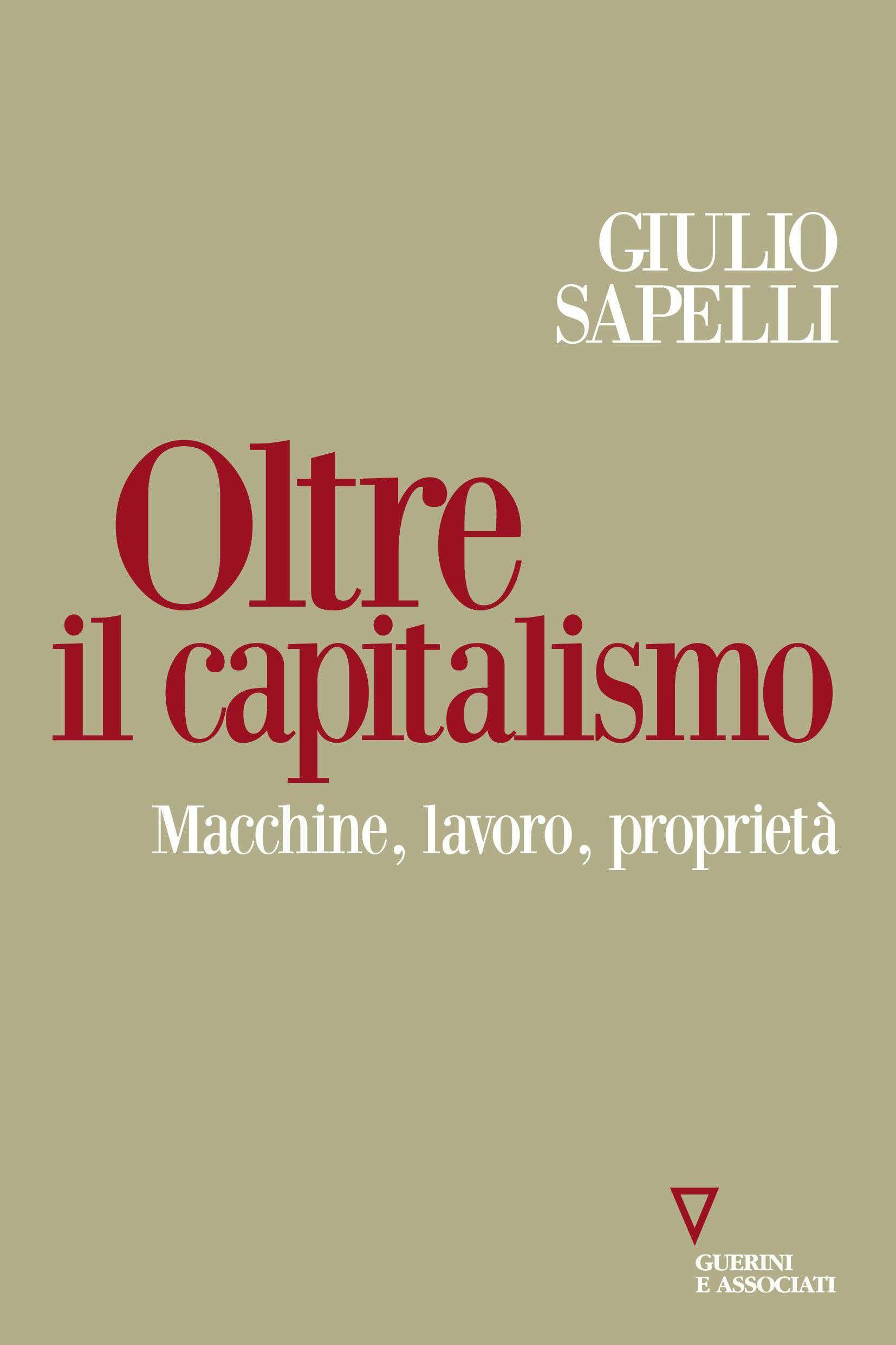 Cover Oltre il Capitalismo di Sapelli
