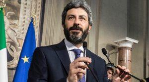 Roberto Fico presidente della Camera al Quirinale