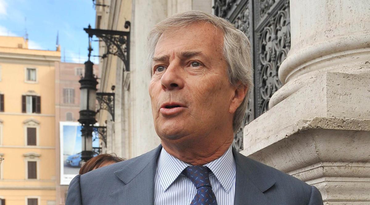 l'imprenditore francese Vincent Bolloré