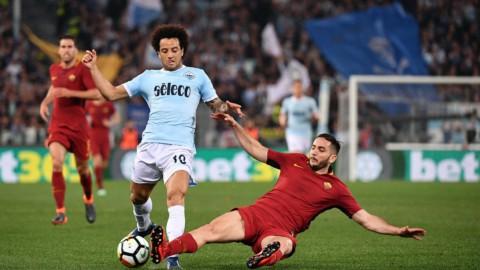 Lazio-Roma, derby senza gol ma sorpasso sull'Inter