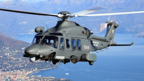 Leonardo: nuova Divisione Elettronica e nuovo ordine di elicotteri