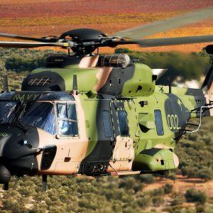 Leonardo costruisce centro riparazione elicotteri in Australia