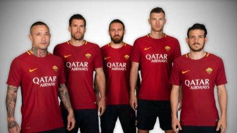 Roma, Qatar Airways main sponsor: anche il titolo spicca il volo
