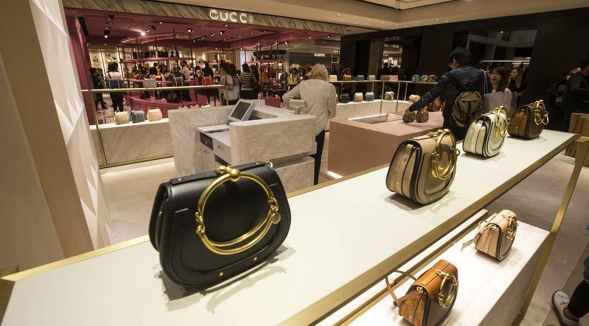 Gucci boutique a La Rinascente Roma