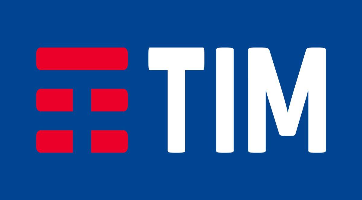 Tim logo blu