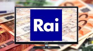 tv con il logo della rai