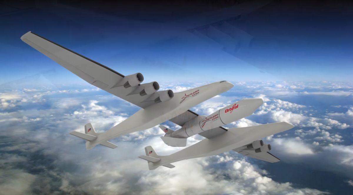 Stratolaunch l'aereo più grande del mondo