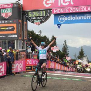 Giro: lo Zoncolan rilancia Froome, Yates c'è, crolla Aru