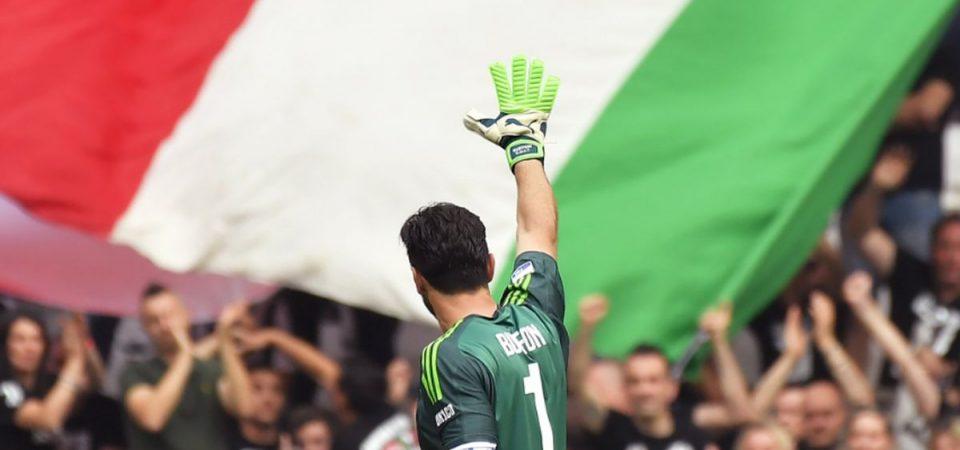 La Juve festeggia lo scudetto ma saluta Buffon