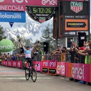 Giro, Froome trionfa sulle Alpi ed è maglia rosa