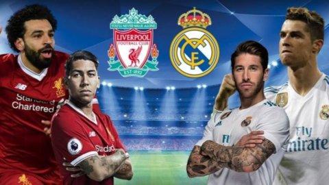 Champions, finalissima Liverpool-Real Madrid: blancos a caccia del tris
