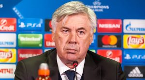 Carlo Ancelotti allenatore del Napoli
