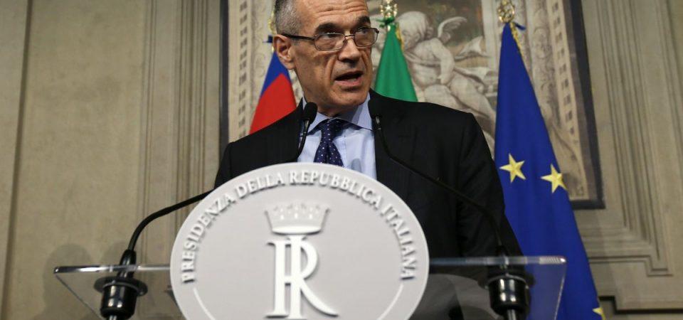 Cottarelli in bilico: tutto rinviato a domani, voto più vicino