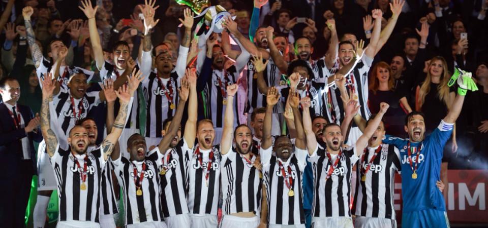 Coppa Italia, trionfo Juve: è la quarta vittoria di fila