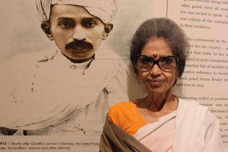 Tara Gandhi al MAXXI: il perdono è necessario per la Pace