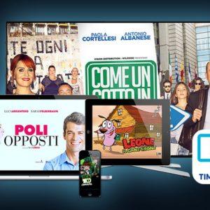 Su Timvision da oggi in chiaro i programmi Mediaset