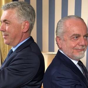 Ancelotti sulla panchina del Napoli e la Juve incontra Morata