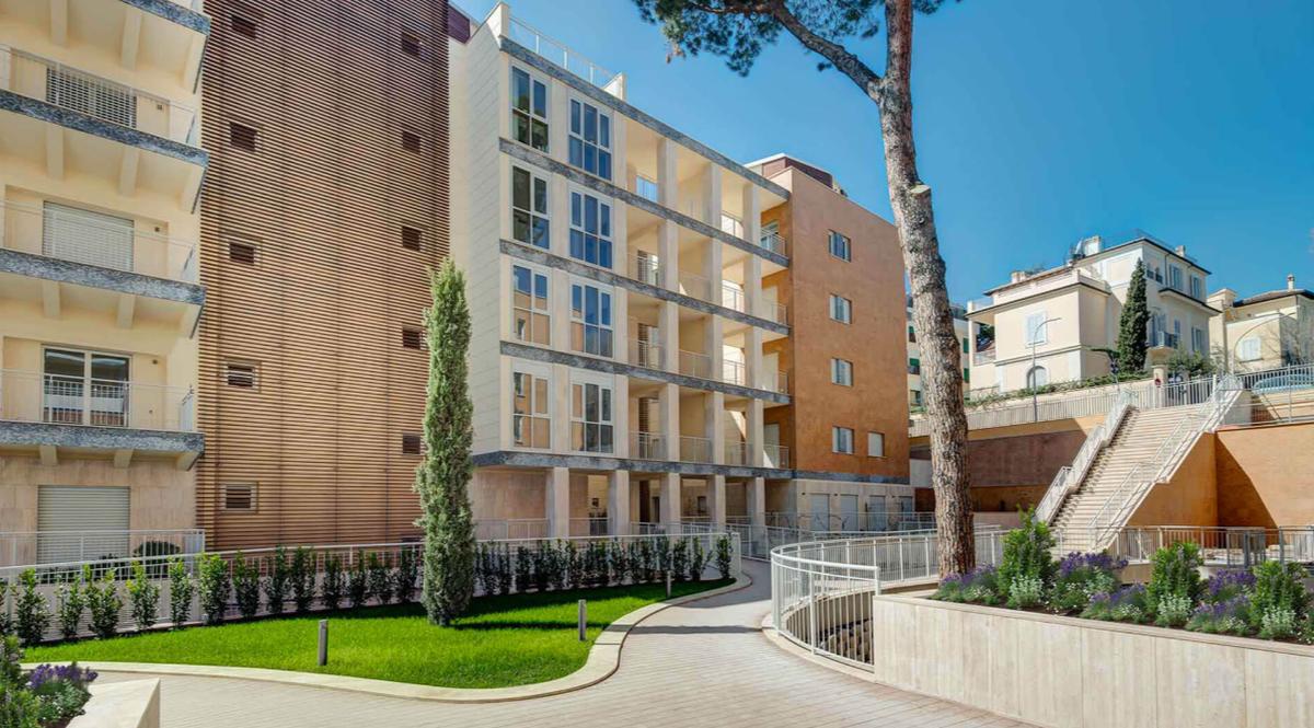 case a roma bnp re investe nel recupero di edifici in