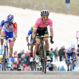 """Il Giro si riapre: Yates cede 28"""" a Dumoulin e Froome"""
