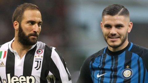 Juve e Inter: lo scambio Higuain-Icardi non è fantamercato