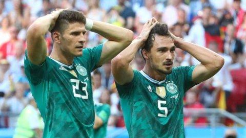 Mondiali choc: Germania fuori. Agli ottavi Brasile-Messico