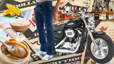 Dazi Usa, l'Ue si vendica: tariffe alzate su jeans, moto e altro
