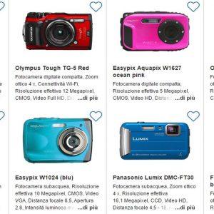 Macchine fotografiche subacquee, guida ragionata all'acquisto