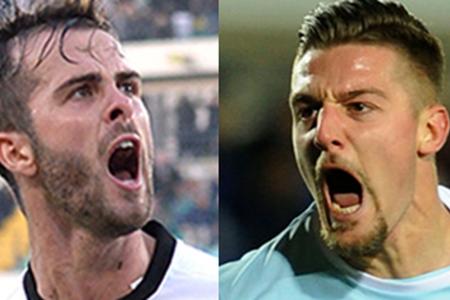 ll Milan trema, Juve, Roma e Inter nel gioco delle coppie