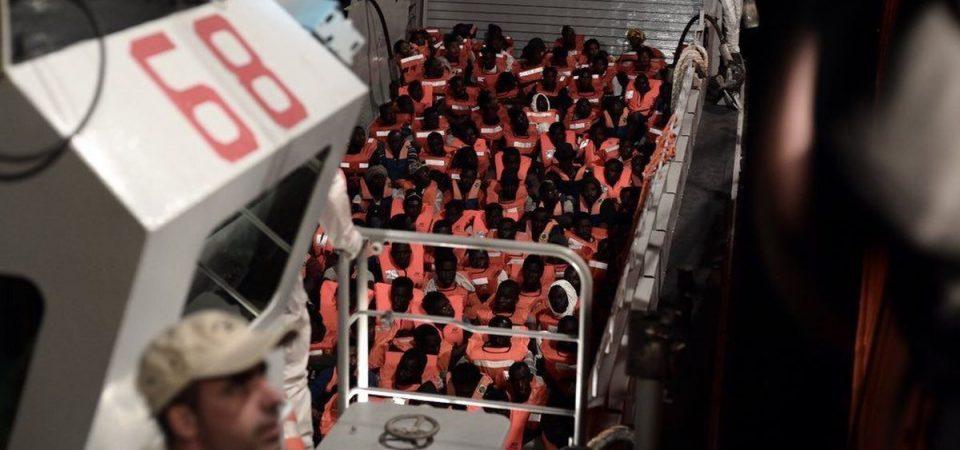 """Aquarius: """"Migranti portati a Valencia da navi italiane"""""""
