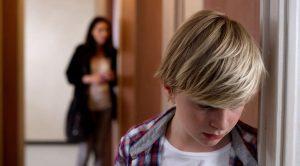 Scena del film L'affido - una storia di violenza