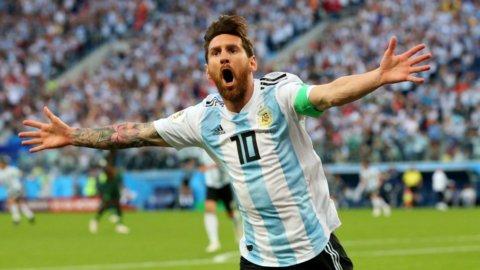 Mondiali: miracolo Argentina, si sblocca Messi