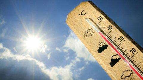 Meteo: nubifragi al Nord ma caldo africano da martedì su tutta Italia