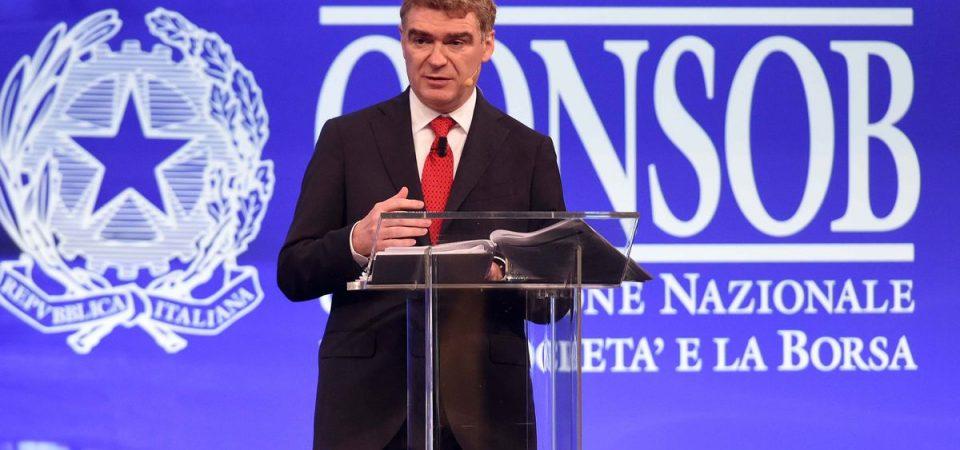 Consob, Nava si è dimesso da presidente