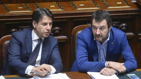 Conte e Salvini ai ferri corti: il 20 duello al Senato sulla fiducia