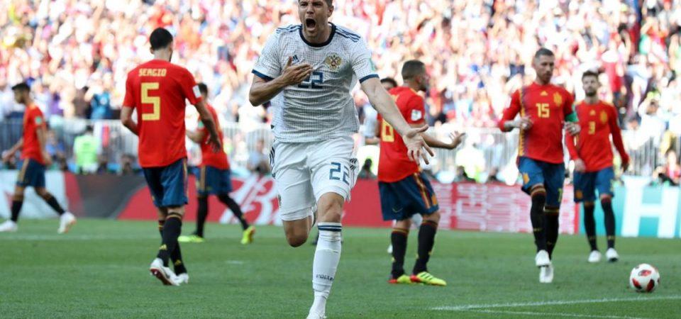 Mondiali, cade anche la Spagna: Russia ai quarti