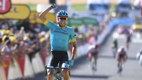Tour: a Mende vince Fraile, Thomas sempre in giallo