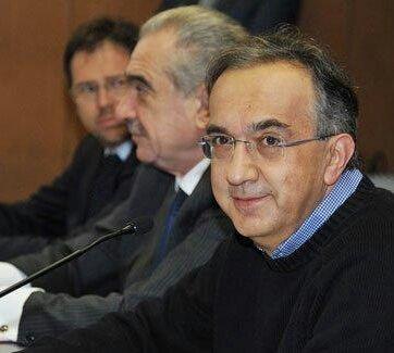 Giorgio Giva e Sergio Marchionne