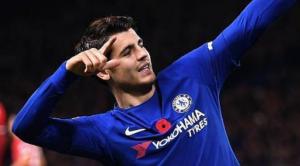 Morata con il Chelsea