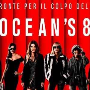 Cinema: con Ocean's 8 la grande truffa è al femminile