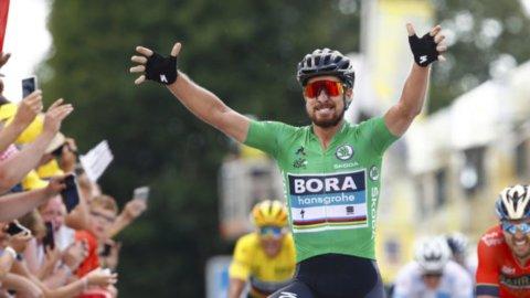 Tour: Sagan centra il bis battendo il record di Zabel