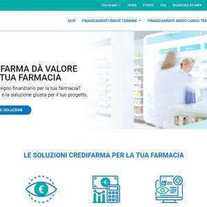Credifarma: online il nuovo sito per il credito alle farmacie