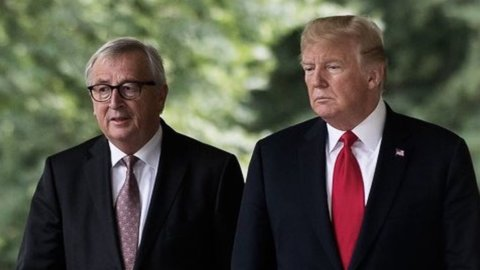 "Trump-Juncker, c'è l'accordo: ""Tregua commerciale fra Usa e Ue"""