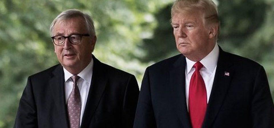 """Trump-Juncker, c'è l'accordo: """"Tregua commerciale fra Usa e Ue"""""""