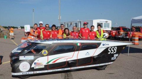 Ecco Emilia 4, l'auto solare Unibo alla sfida dal Nebraska all'Oregon