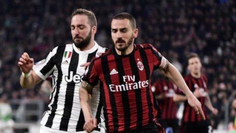 Juve-Milan: affare fatto su Bonucci-Higuain. Inter vicina a Vidal