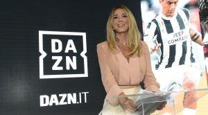 Diletta Leotta su Dazn
